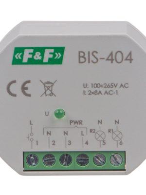 (BIS – 404)  Leuchtenrelais (Dop