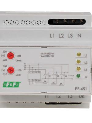 PF-451) – Automatischer Phasenumschalter